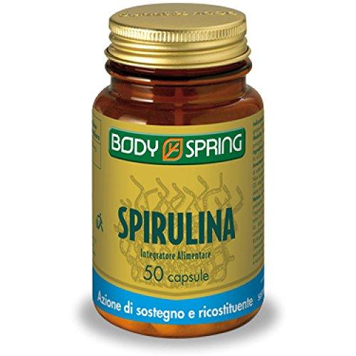 BODY SPRING SPIRULINA 50 COMPRESSE