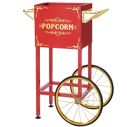 Red Replacement Cart for Foundation & All Star Style Great Northern Machines (Great Northern Replacement Kettle compare prices)