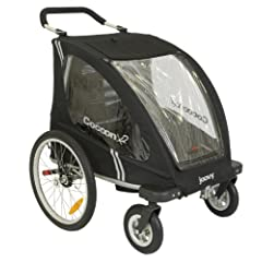 Joovy Cocoonx2 Enclosed Double Stroller Black by Joovy