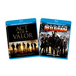 Red Dawn (2012) / Act of Valor (Two-Pack) [Blu-ray]