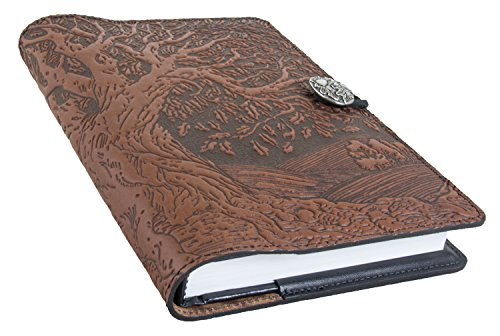 Genuine Leather Tooled Journal Tree of Life,