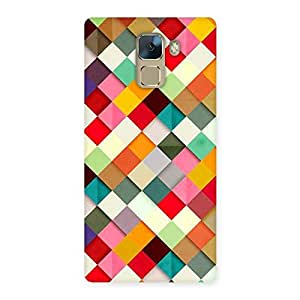 Enticing Color Ribbons Back Case Cover for Huawei Honor 7