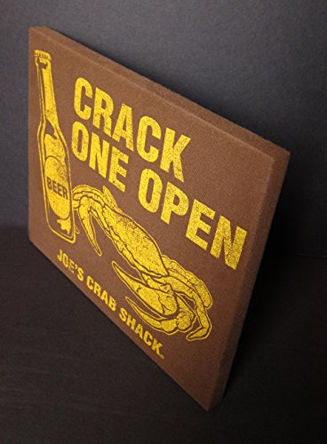 crack-one-open-beer-and-crabs-at-joes-crab-shack-t-shirt-repurposed-into-an-original-wall-hanging-pe