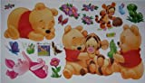 Winnie the Pooh Tiger Friends Disney Poster Wall Stickers Childrens Kids Home Decors Mural Art Nursery Decal