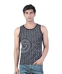 Funky Black Versace Printed Vest by Bfly