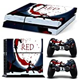 TFSM Branded RWBY PS4 Palystation 4 Skin Decal for console and 2 controllers