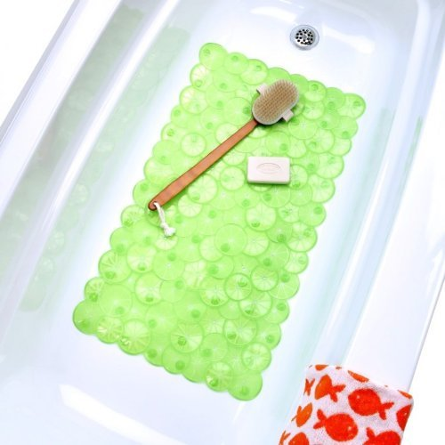 Twist of Citrus Bath Mat - Lime