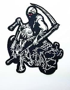 Clock Timer of Dead Biker Rider Hippie Punk Rock Heavy Mettal Tatoo