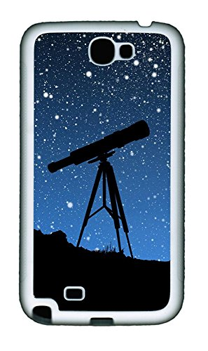Samsung Note 2 Case Sky Telescope Tpu Custom Samsung Note 2 Case Cover White