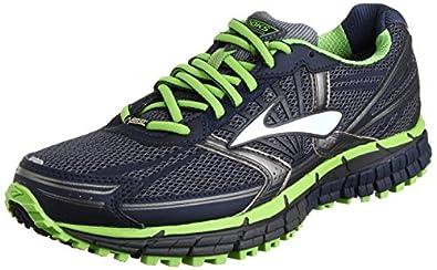 Brooks Men's Adrenaline ASR 11 GTX Running Shoes 1101731D393 Ombre Blue/Peacoat/Greenery 7 UK, 41 EU, 8 US Regular
