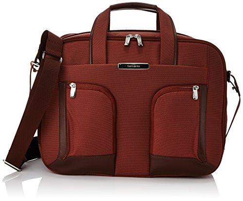 "Samsonite S-teem Bailhandle Exp Cartella a Due Manici da Uomo, 15.6"", Ruggine"