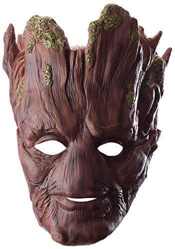 Rubie's Costume Men's Guardians Of The Galaxy Groot 3/4 Adult Mask