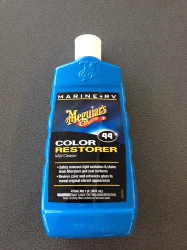 """Superb Meguiars Marine Products-Rinnovante colore per verniciatura metallizzata per scopi ricreativi veicolo comprendente un AA-Manopola in microfibra """"Magic Mitt"""""""