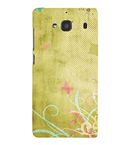 iFasho Animated Pattern colrful traditional design cloth pattern Back Case Cover for Redmi 2S