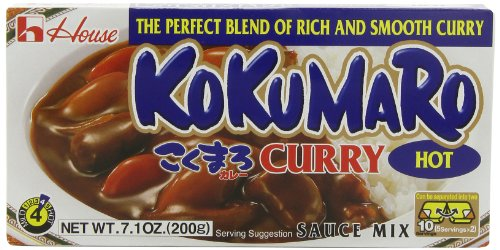 House Foods Kokumaro Curry, Hot, 7.1-Ounce Boxes (Pack Of 10)