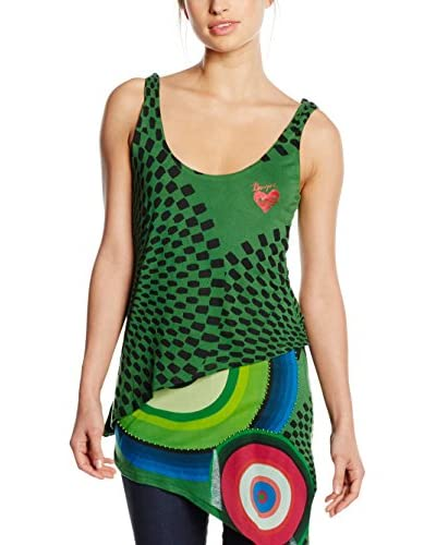 Desigual T-Shirt Ts_Yamas Rep, 4034 Verde Ave