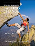 img - for Behavior Analysis for Lasting Change, Third Edition book / textbook / text book