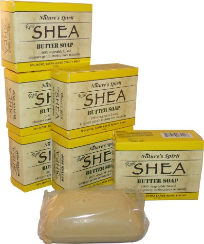6 Natures Spirit Shea Butter Soap