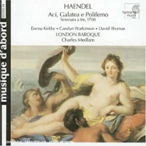 Handel: Aci, Galatea e Polifemo / Medlam, London Baroque