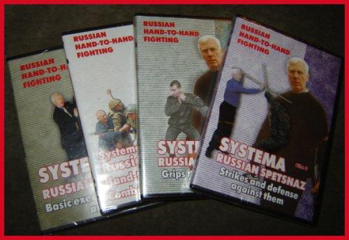 Kadochnikov 4 DVD Set - Systema Russian Martial Art - In English