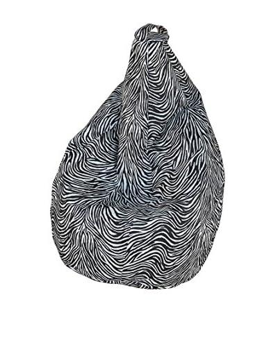 13 Casa zitzak Zebra wit / zwart