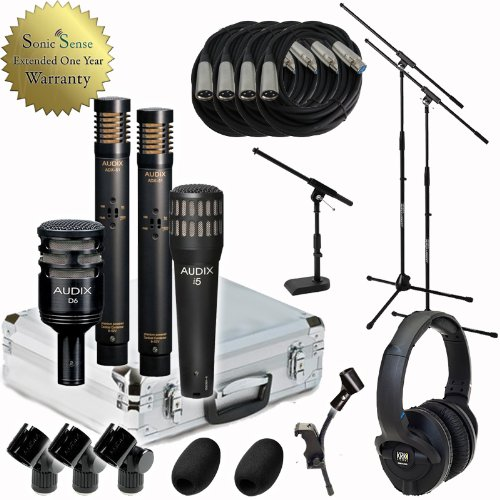 Audix DPQuad DP-Quad Drum Microphone Kit DP-Quad Mic Bundle