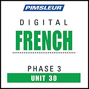 French Phase 3, Unit 30 Audiobook