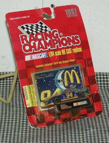 1997 Edition Racing Champions 1:64 Scale Nascar #94 Bill Elliott McDonalds Ford Thunderbird Die Cast Replica - 1
