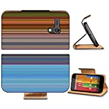 Liili Premium Motorola G 1st Generation Flip Pu Leather Wallet Case Abstract striped digital bright background Photo 20953580 Simple Snap Carrying