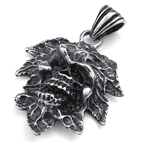AmDxD-Jewelry-Stainless-Steel-Men-Vintage-Punk-Pendant-Necklace-Link-Cut