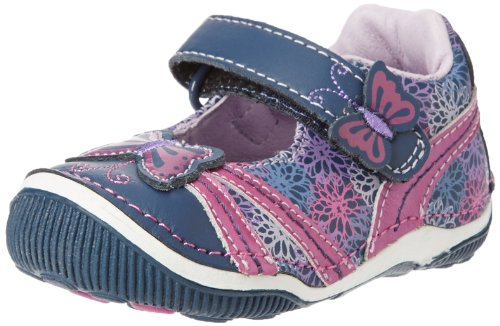 Stride Rite Srt Sheena Sneaker (Toddler),Navy/Purple,5 W Us Toddler