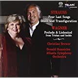 "Strauss: Four Last Songs / Death and Transfiguration; Wagner: Prelude & Liebestod from ""Tristan und Isolde"""