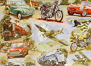 Big 250 Piece Jigsaw Puzzle Simply The Best - Planes, Cars, Bikes
