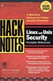 HackNotes(tm) Linux and Unix Security Portable Reference