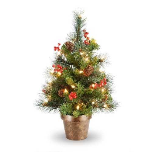 Crestwood Small Artificial Christmas Tree  Plastic