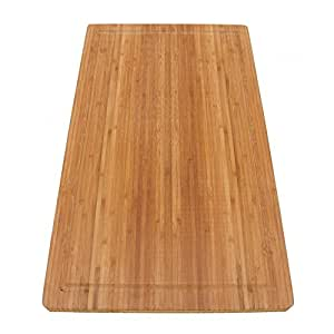 bamboomn brand jenn air bamboo range burner cutting board new vertical cut large