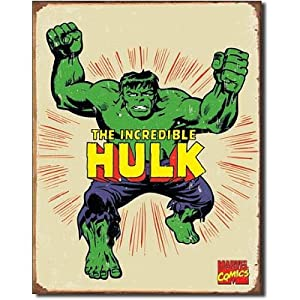 Amazon.com - Incredible Hulk Marvel Comics Distressed ...