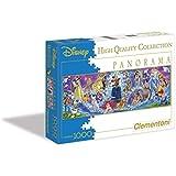 Clementoni Puzzle 30784 - Disney Family -  1000 pezzi Disney Panorama Collection