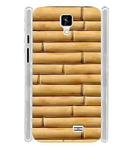 Bamboo Wall Soft Silicon Rubberized Back Case Cover for Intex Aqua Y2 :: Intex Aqua Y2 1GB