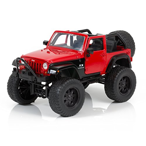 Jada Toys Just Trucks Off Road Edition 2007 Red Jeep Wrangler