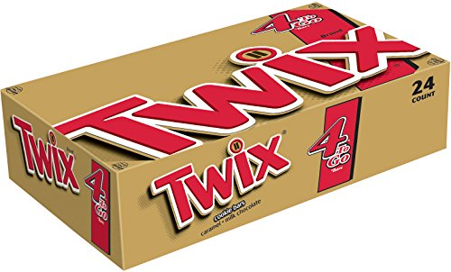 TWIX Caramel Sharing Size Chocolate Cookie Bar Candy 3.02-Ounce Bar 24-Count Box (Big Twix Bar compare prices)
