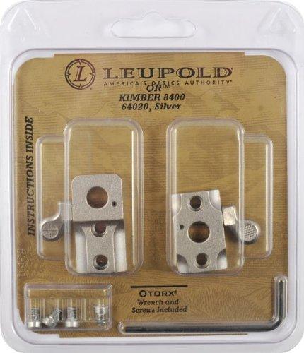 Leupold Qr Kimber 8400 2-Pc, Silver