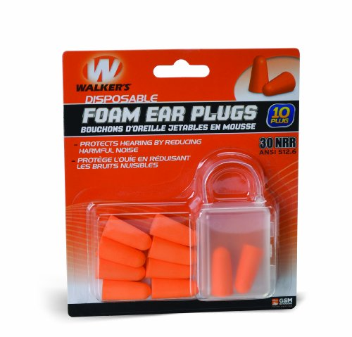Lowest Prices! Walkers Game Ear Foam Blister Ear Plug (10-Pack)