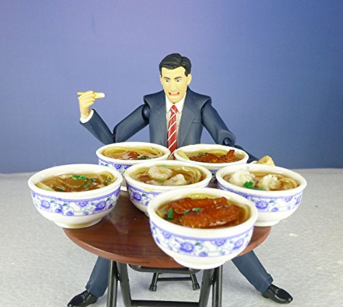 【Good in three directions】「おあがりよ」 figma フード 用 スイーツ 食べ物 1/12 中華麺 6種類セット ラーメン