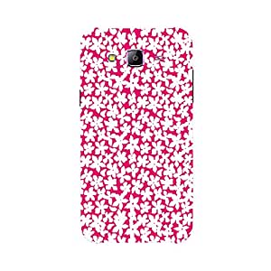 Back cover for Samsung Galaxy A7 Floral-7