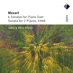 Mozart : Sonata for Piano Duet in C major K521 : II Andante