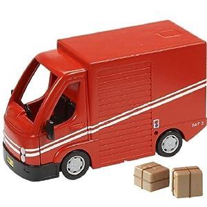 Amazon.com: Postman Pat SDS Vehicle And Accessory Set - SDS Van: Toys