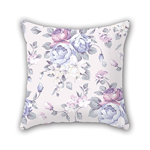 NICEPLW Pillow Covers Of Flower,for Home,couch,deck Chair,kids Room,sofa,play Room 16 X 16 Inches / 40 By 40 Cm(twice Sides)
