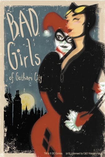 Licenses Products DC Comics Batman Bad Girls of Gotham Sticker - 1