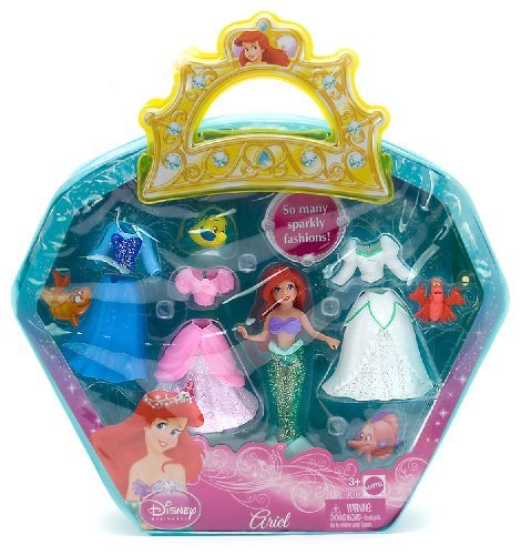 Buy Low Price Mattel Ariel 3.5″ Disney Princess Favorite Moments Figure Playset (B002W8A80U)